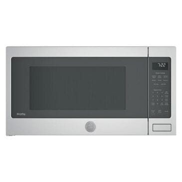 GE Profile 2.2 Cu. Ft. Countertop Sensor Microwave Oven in Stainless Steel, , large