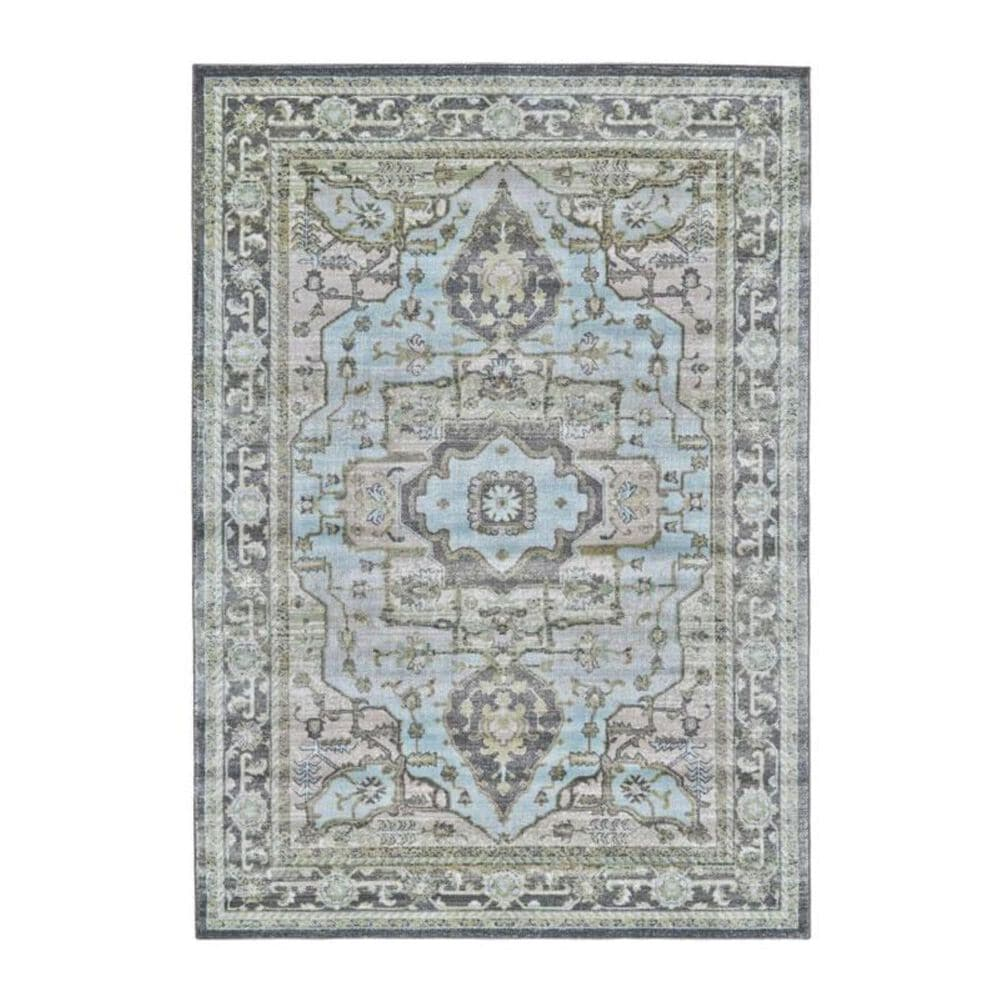 """Feizy Rugs Katari 3377F 2'10"""" x 7'10"""" Taupe/Castle Runner, , large"""