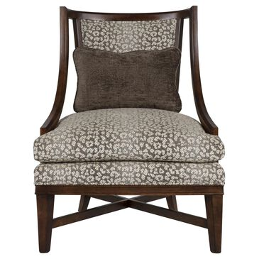 Century Elegance Wilcot Chair in Beige and Brown, , large