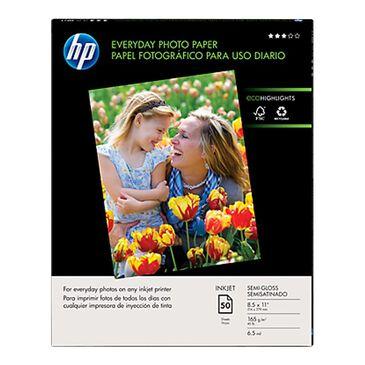 "HP Everyday Semi-Gloss 8.5"" x 11"" Photo Paper, , large"