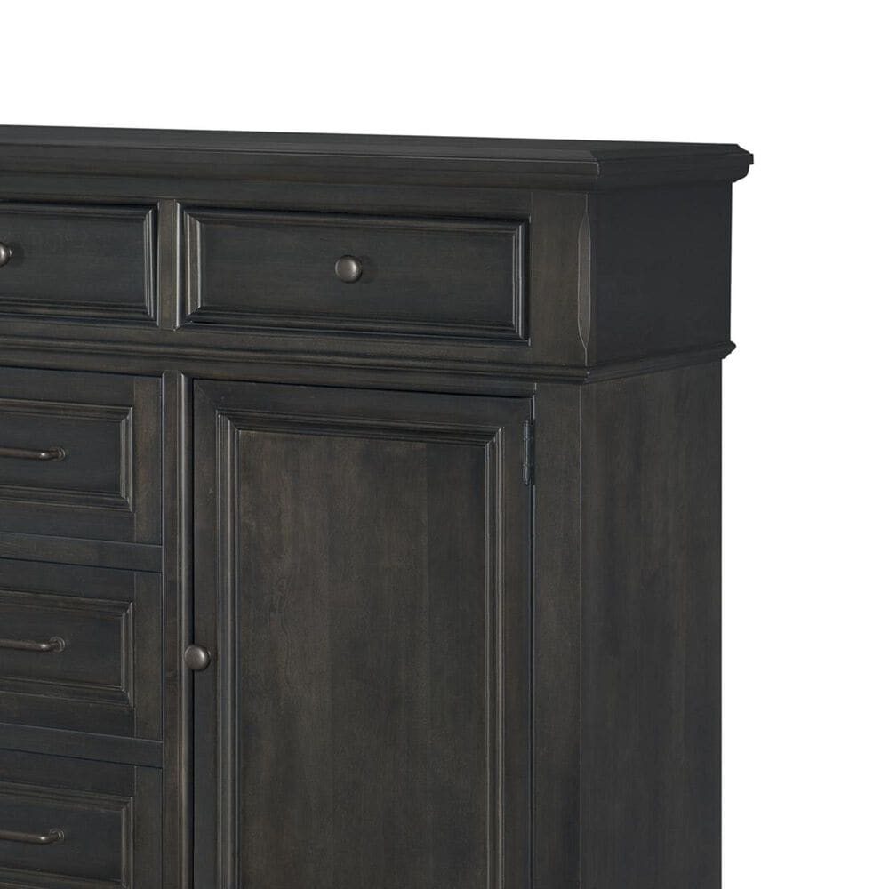 Legacy Classic Townsend 5 Drawer Door Chest in Dark Sepia, , large