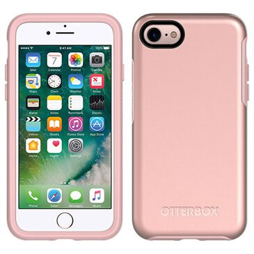 Otterbox Symmetry Metallic Case For Apple Iphone Se / 8 / 7 in Rose Gold, , large