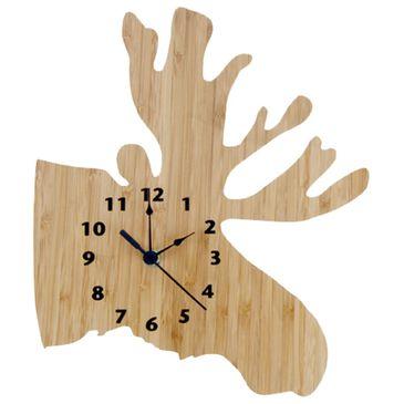 Trend Lab LLC Bamboo Moose Wall Clock, , large
