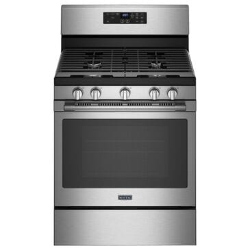 Maytag 5 Cu. Ft. Gas Range with Fan Convection in Fingerprint Resistant Stainless Steel, , large