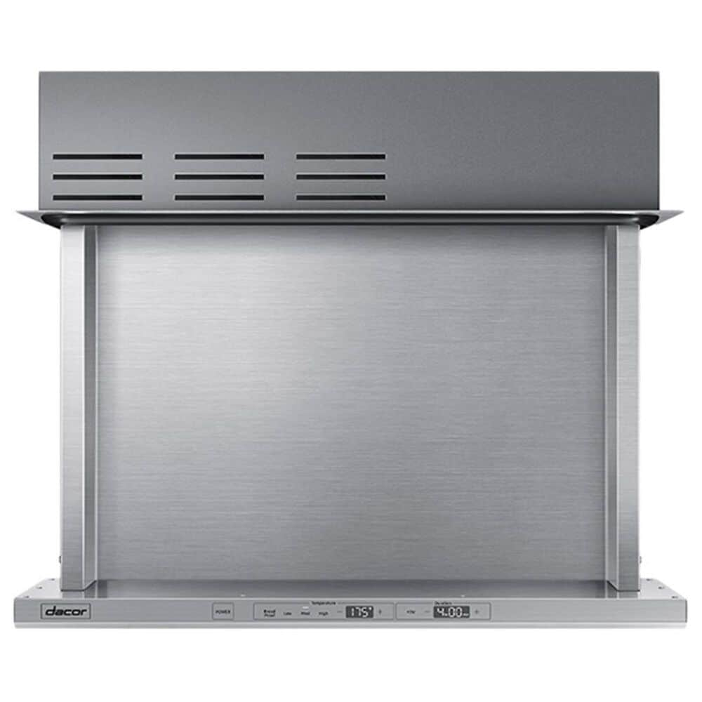 """Dacor Modernist 30"""" Integrated Warming Drawer in Silver Stainless Steel, , large"""