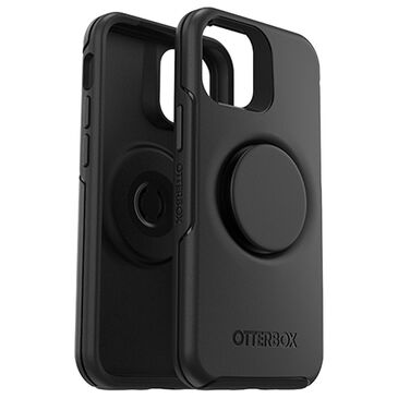 Otterbox Otter + Pop Symmetry Series Case for iPhone 12 mini in Black, , large