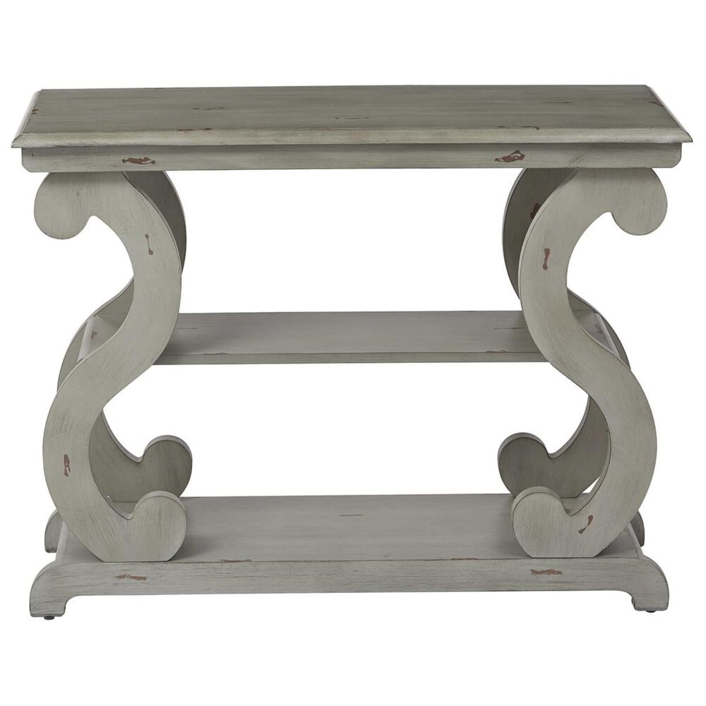 OSP Home Ashland Console Table in Antique Grey, , large