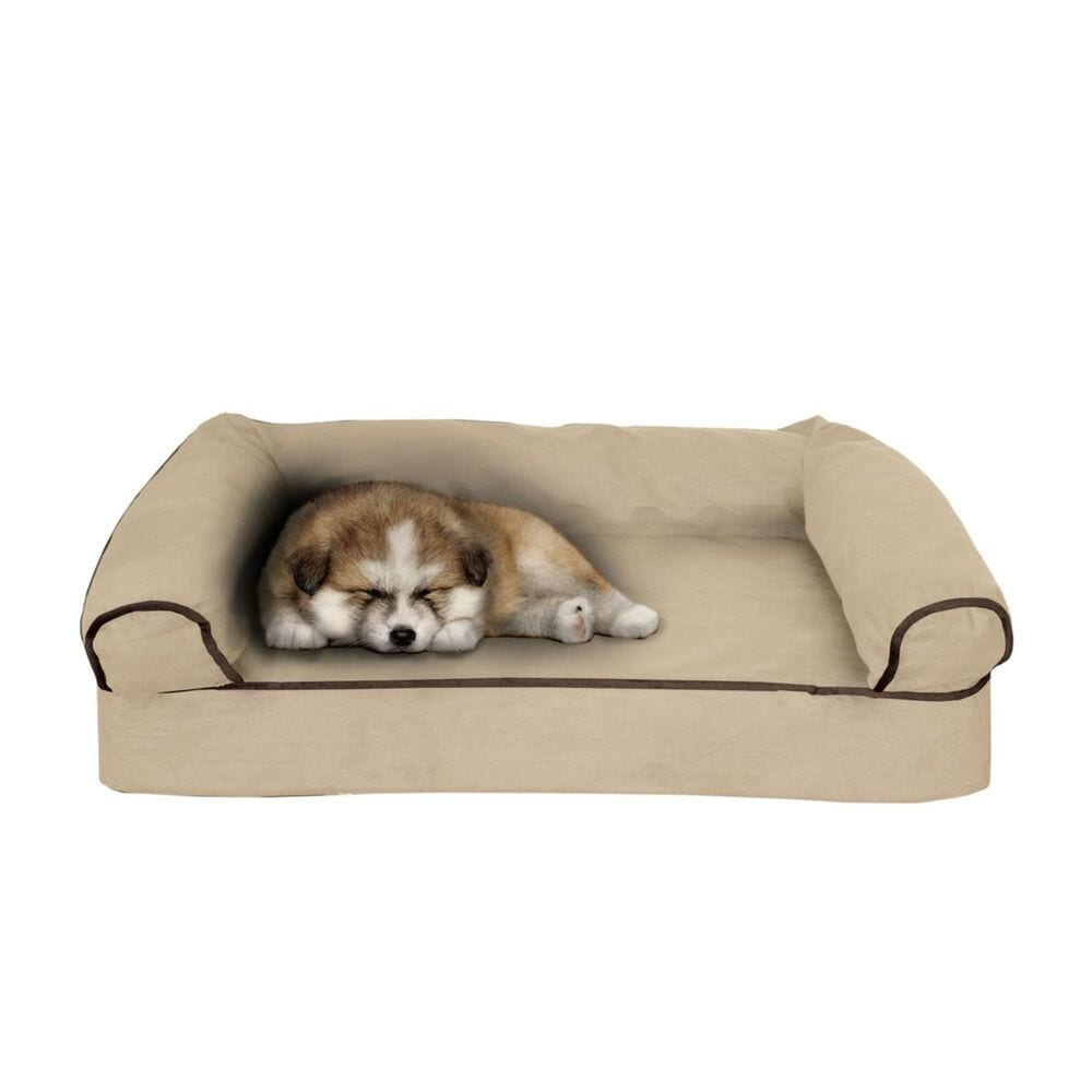 Timberlake Petmaker Small Orthopedic Pet Sofa Bed in Tan, , large