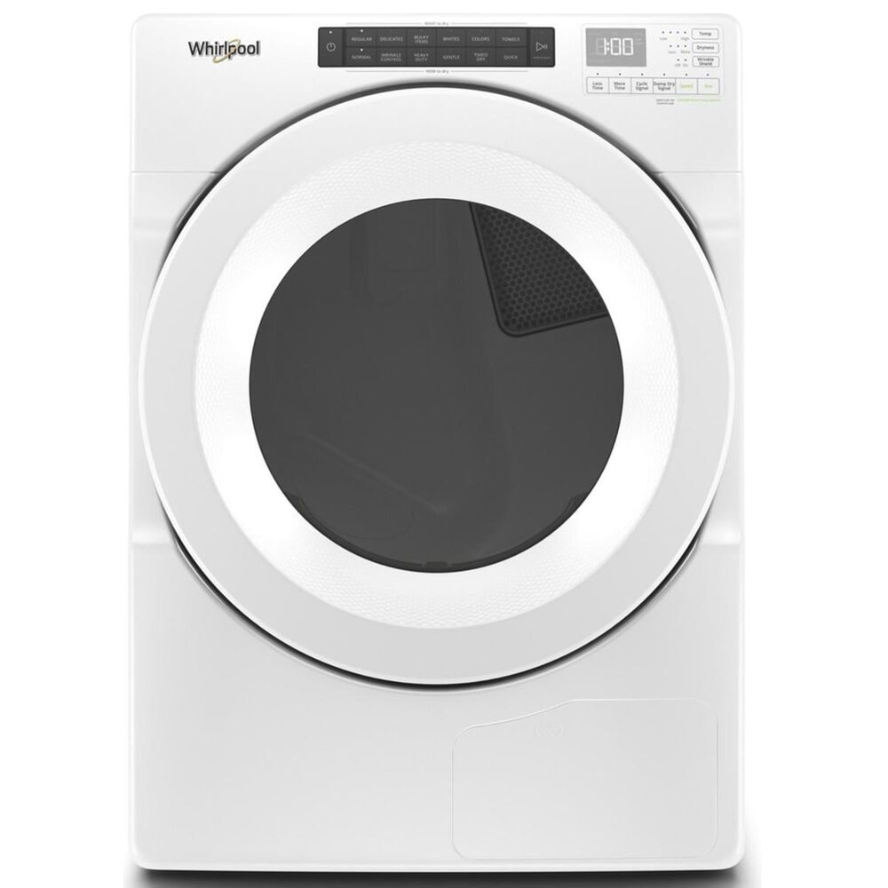 Whirlpool 7.4 Cu. Ft. Heat Pump Electric Dryer in White, , large
