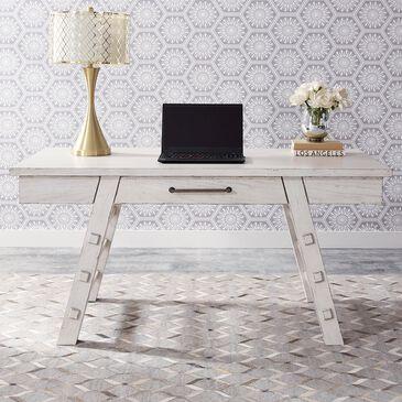 Belle Furnishings Modern Farmhouse Writing Desk in White, , large