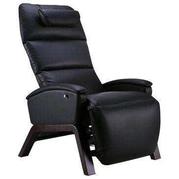 Svago Lite Zero Gravity Plus Massage Chair in Black and Dark Walnut, , large