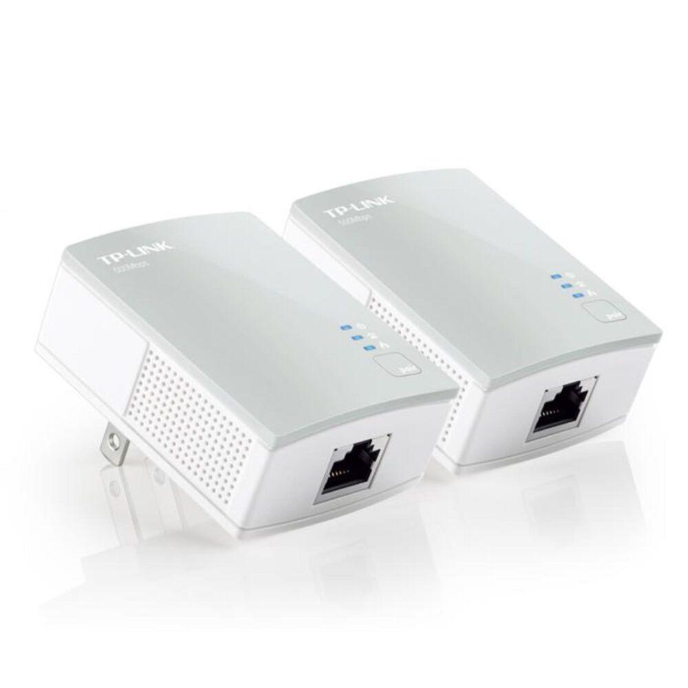 TP-LINK AV600 Nano Powerline Adapter Starter Kit, , large