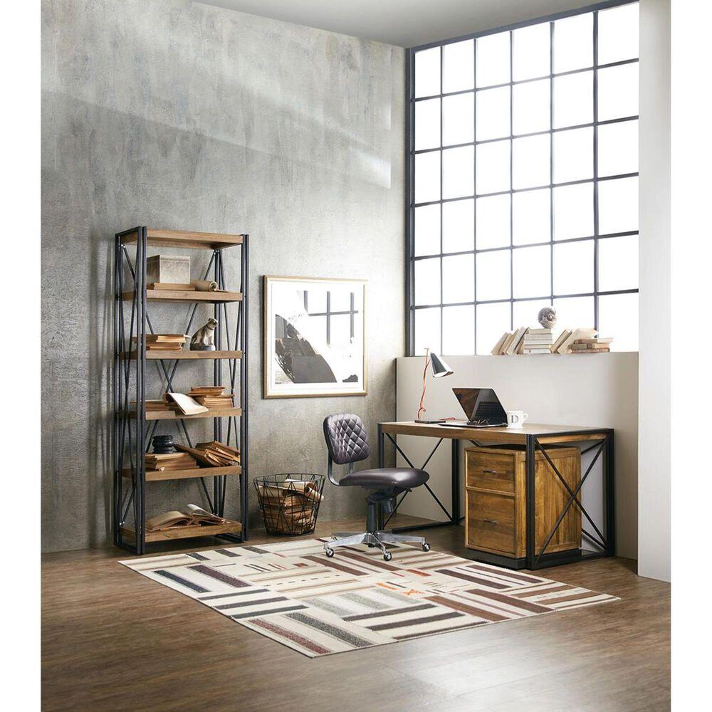 Hooker Furniture Rustique Bookcase in Medium Wood, , large