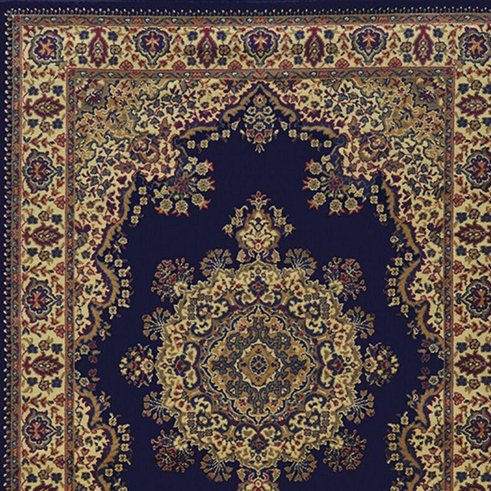 """Radici USA Castello 1191 3'3"""" x 4'11"""" Blue Area Rug, , large"""