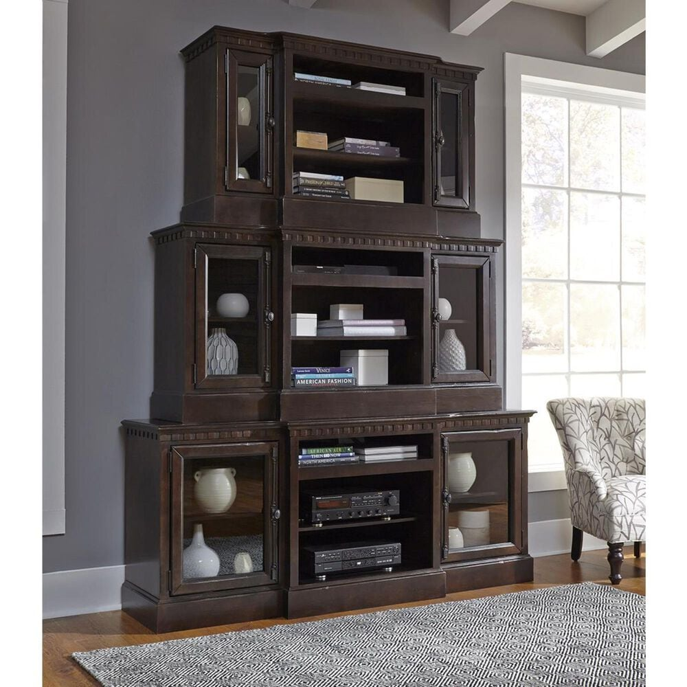 """Tiddal Home Andover Court 74"""" Console in Tobacco, , large"""