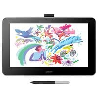 Wacom 13inch One Creative Drawing Tablet with Screen in Flint White
