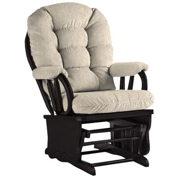 Best Home Furnishings Bedazzle Glide Rocker Chair in Espresso and Tan, , large