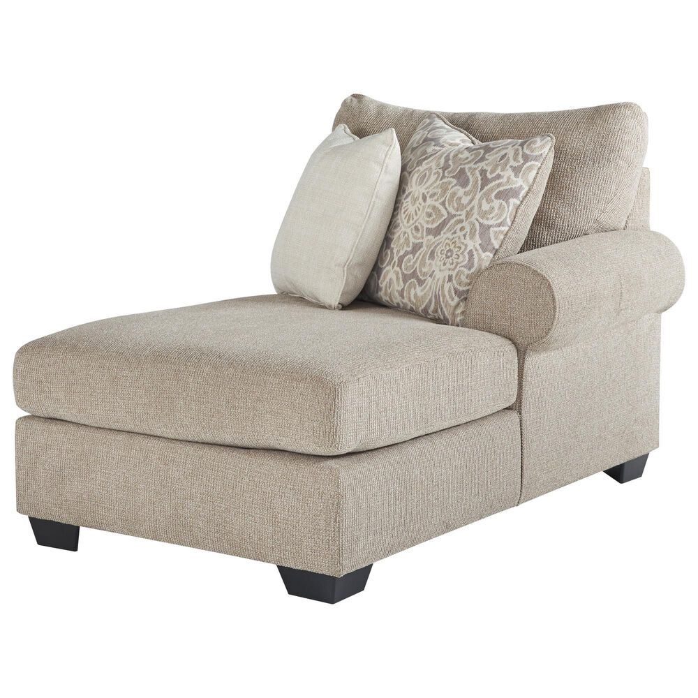 Signature Design by Ashley Baranello Stationary 3-Piece Sectional in Stone, , large