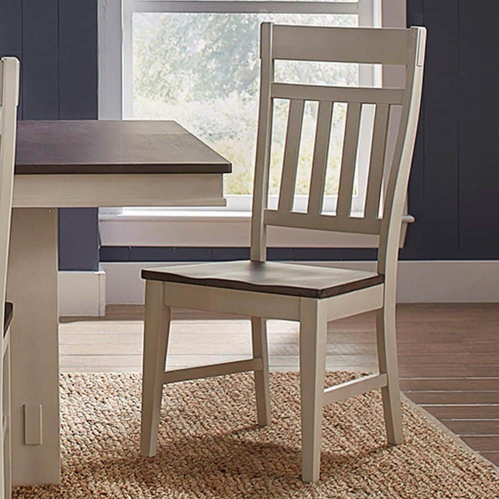 A-America Bremerton 7-Piece Dining Set in Saddle Dust and Oyster, , large