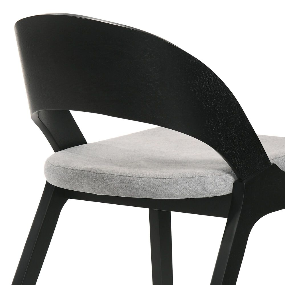 Blue River Polly Dining Chair in Black (Set of 2), , large