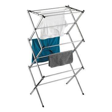 Honey Can Do Accordion Drying Rack in Chrome, , large