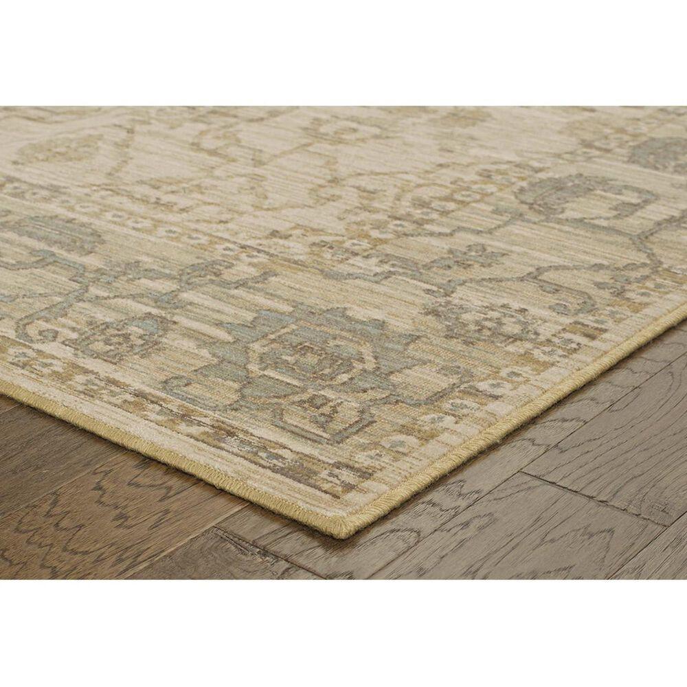 """Oriental Weavers Vintage 4928U 2'7"""" x 9'4"""" Beige Runner, , large"""