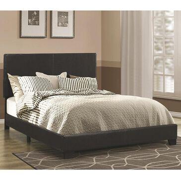 Pacific Landing Dorian Queen Upholstered Bed in Black, , large