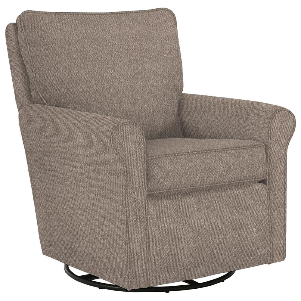 Best Home Furnishings Kacey Swivel Glider in Linen, , large