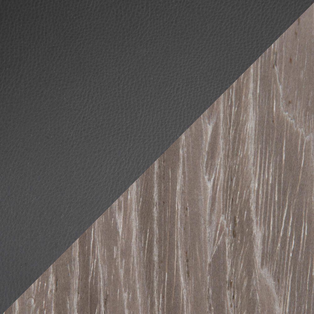 Lumisource Grotto Barstool in Black/Grey/Chrome (Set of 2), , large