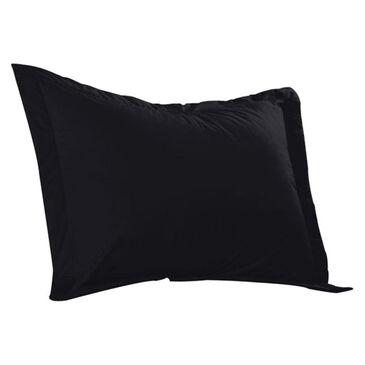 Epoch Hometex Cotton Loft Colors Standard Sham in Black, , large