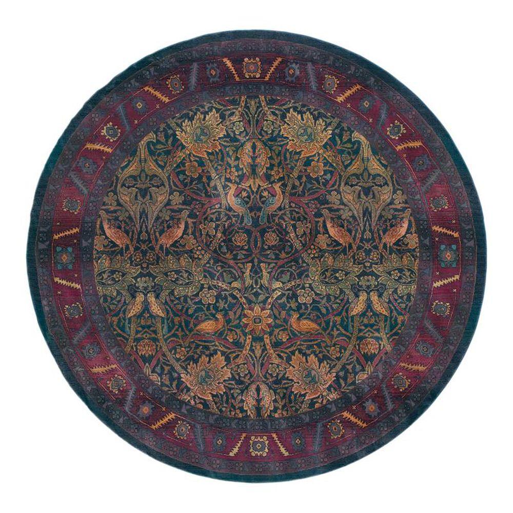 "Oriental Weavers Kharma 470X4 6"" Round Red Area Rug, , large"