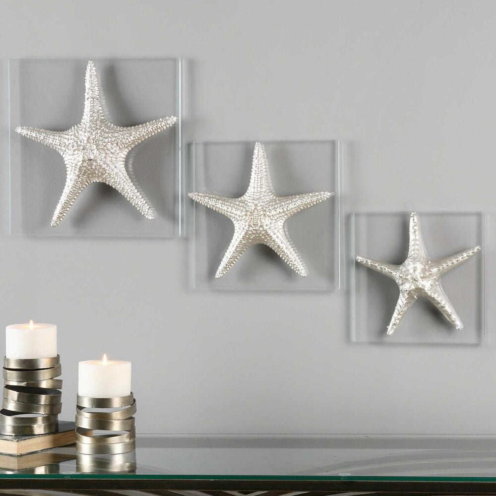 Uttermost Starfish Wall Art (Set of 3), , large