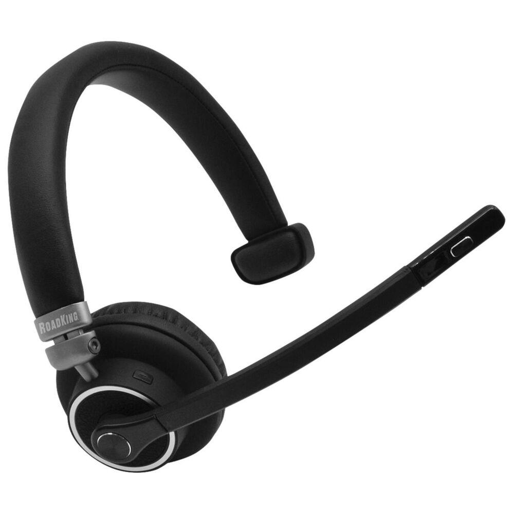 RoadKing Premium Noise-Canceling Bluetooth Headset, , large