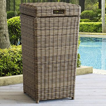 Firefly Bradenton Trash Can in Light Brown, , large