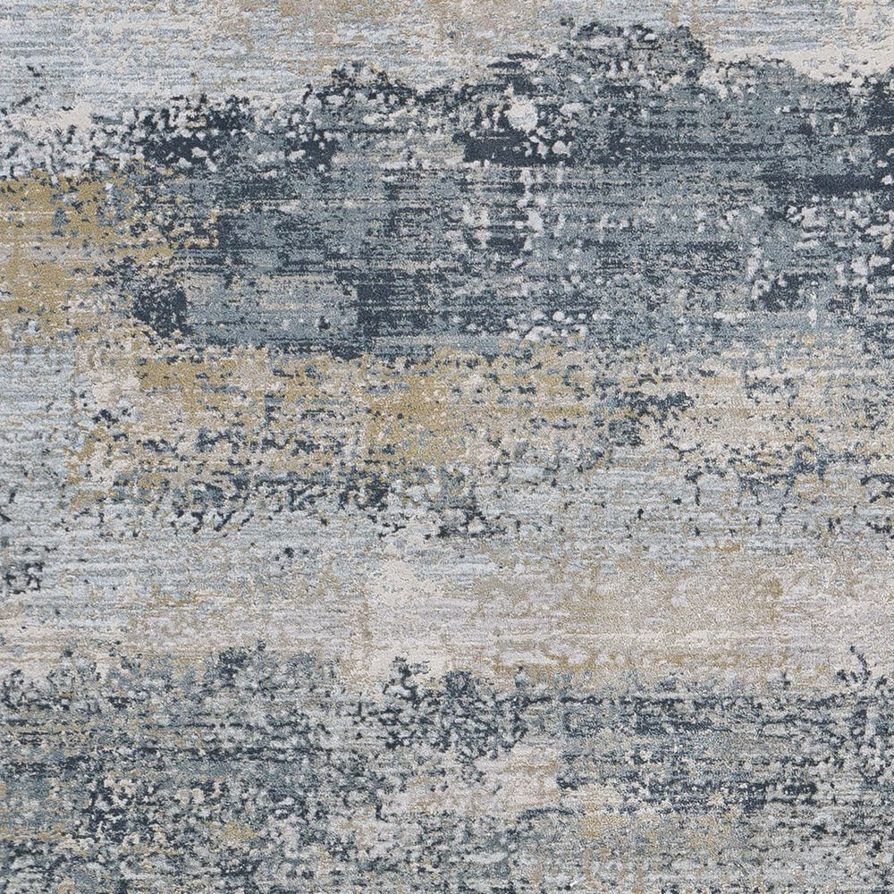Surya Brunswick 2' x 3' Sage, Gray, White and Blue Area Rug, , large