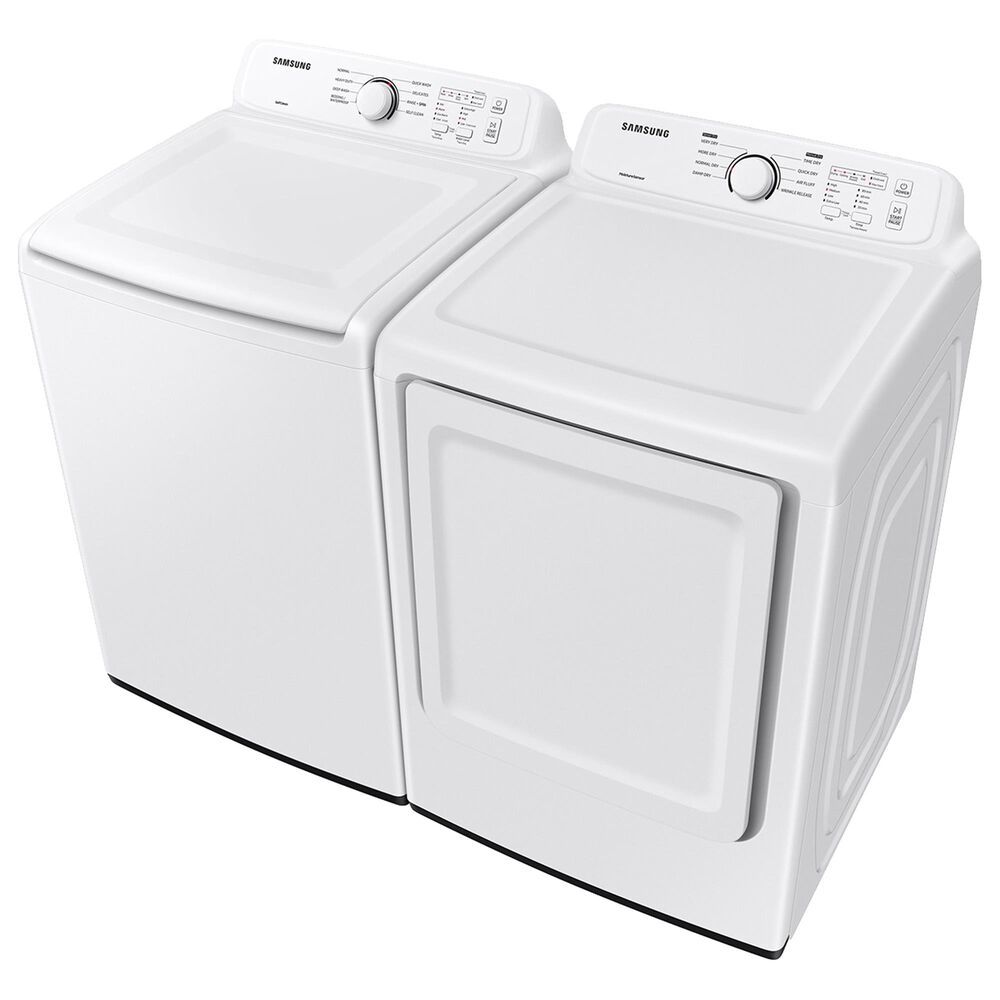 Samsung 7.2 Cu. Ft. Electric Dryer with Sensor Dry and 8 Drying Cycles in White, , large