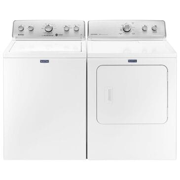 Maytag 4.2 Cu. Ft. Top Load Washer and 7.0 Cu. Ft. Electric Dryer in White, , large