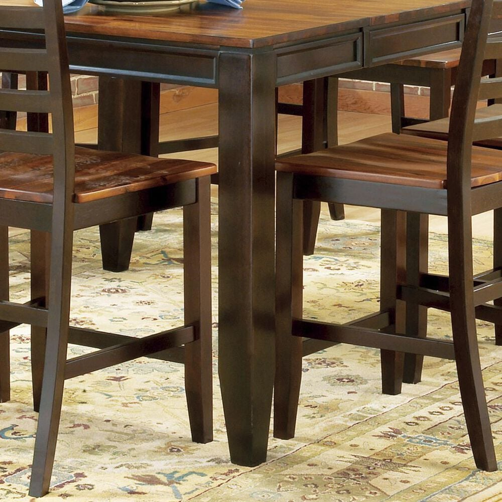 Crystal City Abaco 10-Piece Counter Height Set in Cherry, , large
