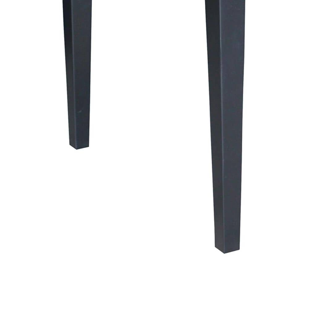 International Concepts Square Dining Table with Shaker Legs in Black - Table Only, , large