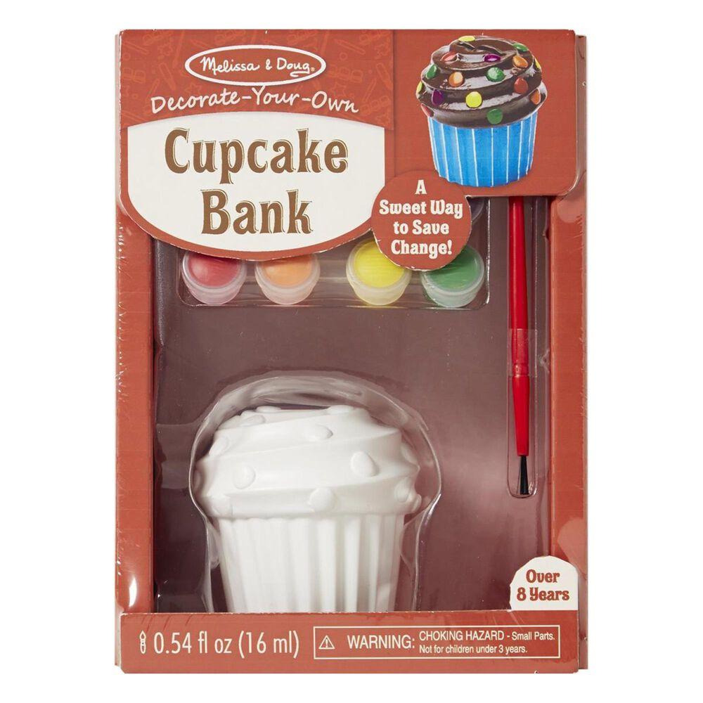 Melissa & Doug Decorate Your Own Cupcake Bank, , large