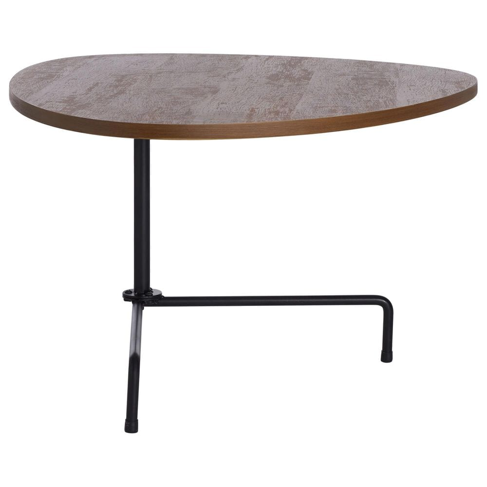 Safavieh Berlin Coffee Table in Walnut and Black, , large