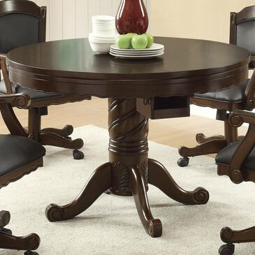 Pacific Landing 3-in-1 Round Pedestal Game Table Only, , large
