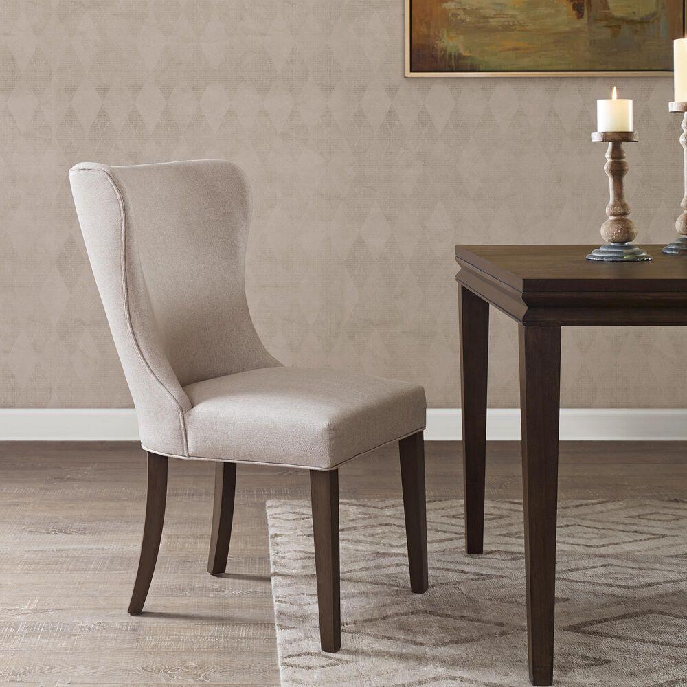 Hampton Park Helena Dining Chair in Cream/Grey, , large