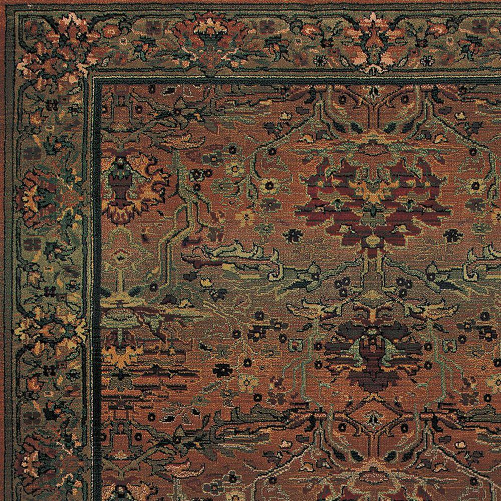"Oriental Weavers Kharma 465J 9'9"" x 12'2"" Green Area Rug, , large"