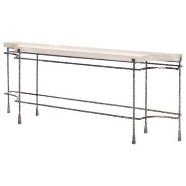 Century Mesa Cortez Console Table in Blackened and Tan, , large