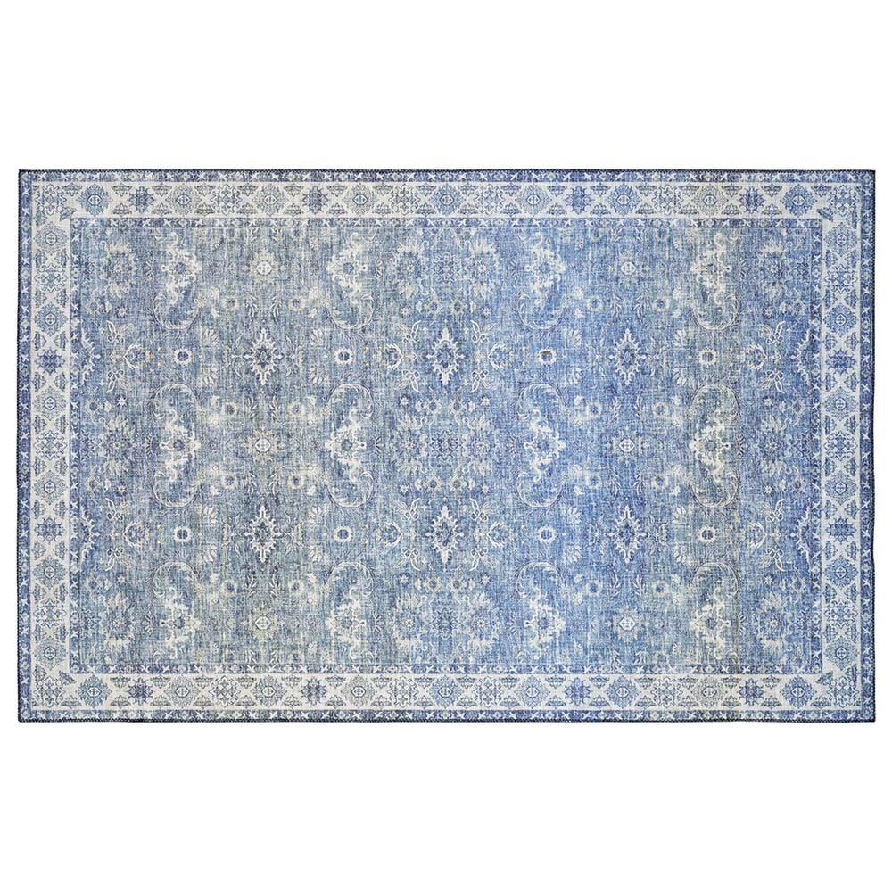 Oriental Weavers Myers Park  MYP04 2' x 8' Blue Runner, , large