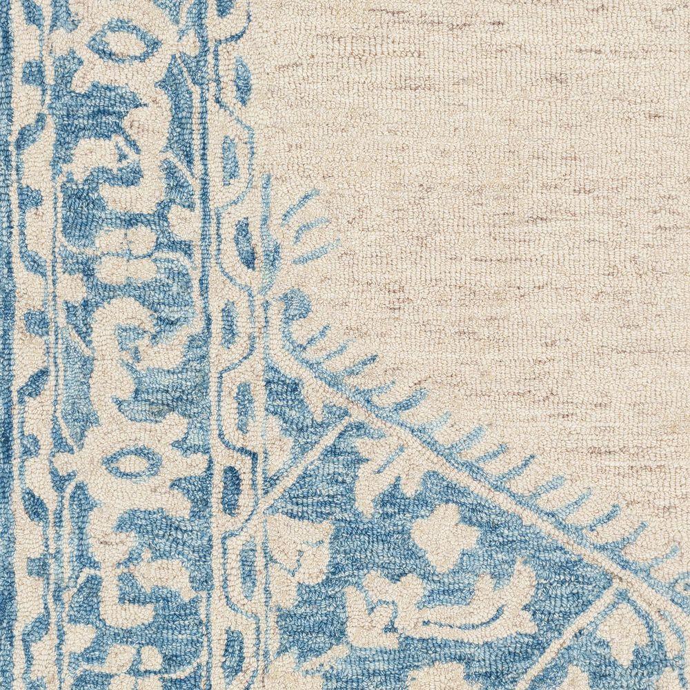 "Surya Granada GND-2306 2'6"" x 8' Pale Blue, Beige and Sky Blue Scatter Rug, , large"