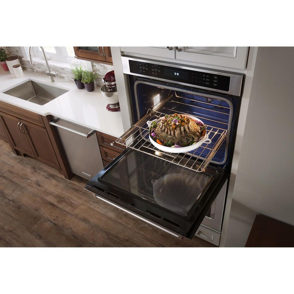 """KitchenAid 30"""" Double Wall Oven with Even-Heat True Convection, , large"""