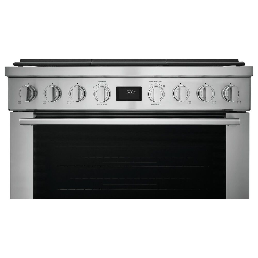 """Electrolux 36"""" Dual-Fuel Freestanding Range with True Convection in Stainless Steel, , large"""