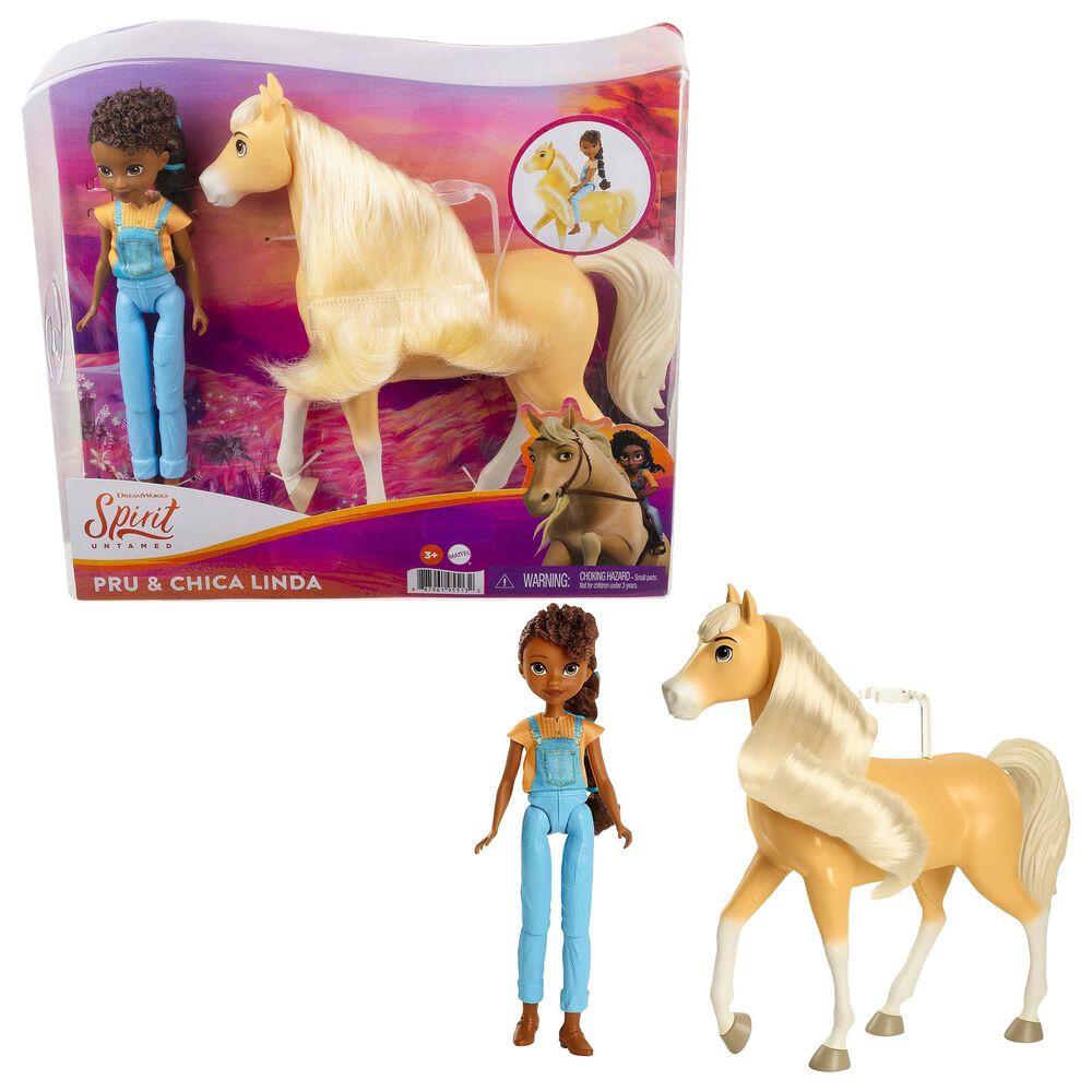 Spirit Untamed Pru Doll and Chica Linda, , large